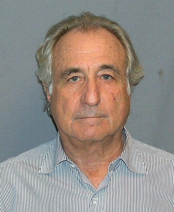 <p>American financier Bernard Madoff ran the largest Ponzi scheme ever, worth USD 64.8 billion through his company, Bernard L Madoff Investment Securities. The investment scandal defrauded investors of billions of dollars. Madoff pleaded guilty to 11 federal felony counts that included wire fraud, mail fraud, money laundering and securities fraud and was sentenced to 150 years. Madoff died in a prison hospital on April 14, 2021.</p>