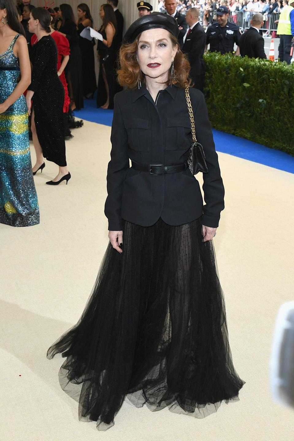 """<h1 class=""""title"""">Isabelle Huppert in Dior and Repossi jewelry</h1> <cite class=""""credit"""">Photo: Getty Images</cite>"""