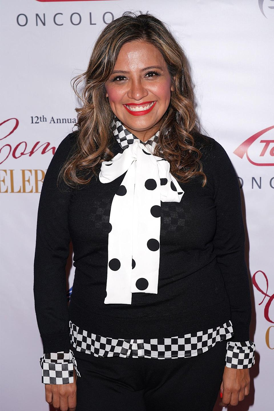 """<strong><h2>Cristela Alonzo Is The Voice Of Hester</h2></strong> <br> <strong>Who Is Hester?<br></strong>Lee Scoresby's dæmon who takes the form of an arctic hare. Just like Lee, Hester is dry and funny and incredibly hard on herself. <br> <br> <strong>Where You've Seen Alonzo<br></strong>Even if you don't know the name Cristela Alonzo off the top of your head, you've probably at least heard her before considering she's a stand-up comedian and voice actress. She was the star (and created, wrote, and produced) <em>Cristela</em> and is part of the <em>Cars</em> universe, in which she voices Cruz Ramirez. <br> <span class=""""copyright"""">Photo: JC Olivera/Getty Images.</span>"""