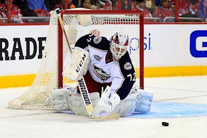 Columbus' turnaround coincided with the return of goalie Sergei Bobrovsky. (Getty)