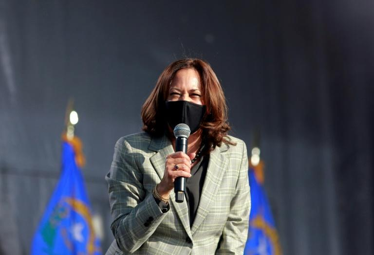 Democrat Joe Biden's vice presidential running mate, Senator Kamala Harris, froze her travel after a staffer and an airplane crewmember tested positive for the coronavirus less than three weeks before the US presidential election