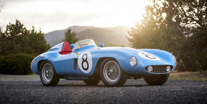 Navy Blue: The Admiral\'s Ferrari 500 Mondial Goes Up for Sale
