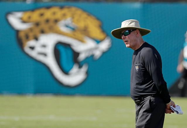 The NFL officially sent a warning to Jaguars vice president Tom Coughlin after his comments last week criticizing players for skipping voluntary workouts. (AP/John Raoux)