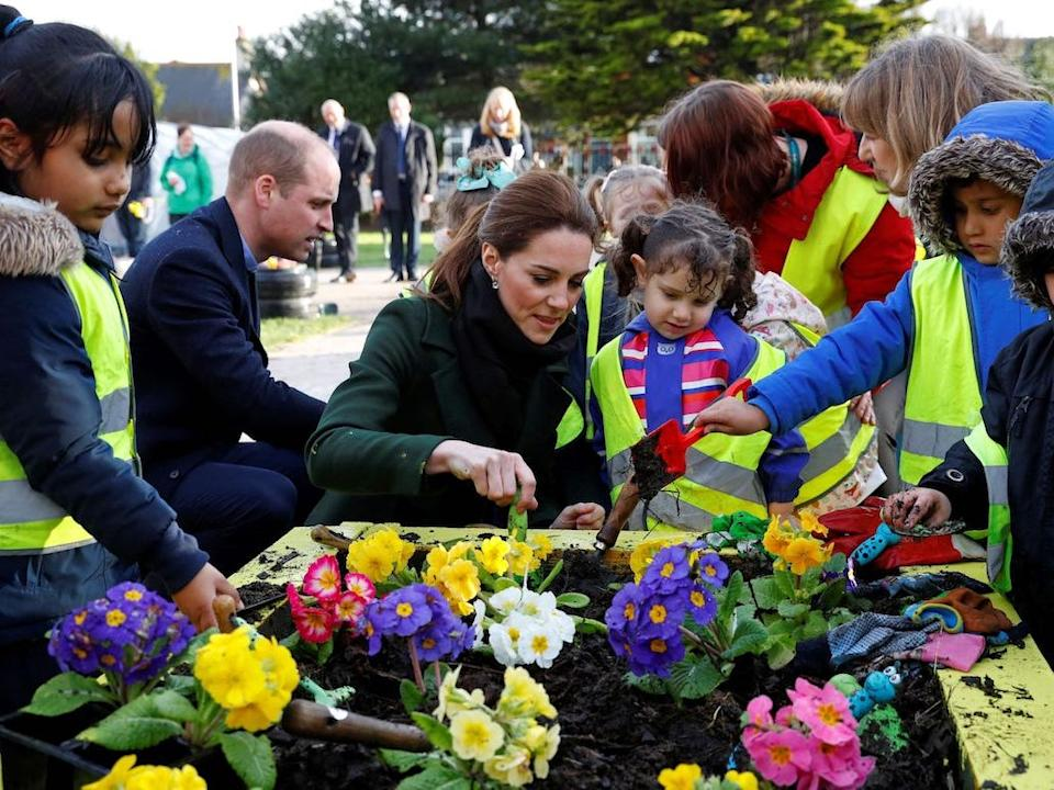 William and Kate blackpool