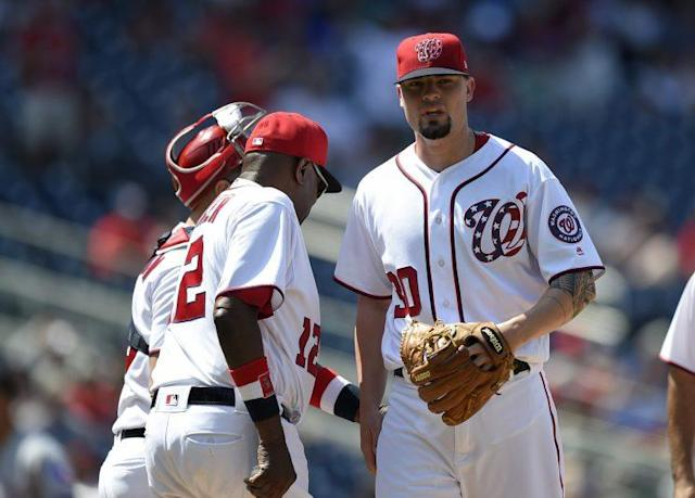 The Nationals bullpen has already cost the team a number of wins in 2017. (AP)
