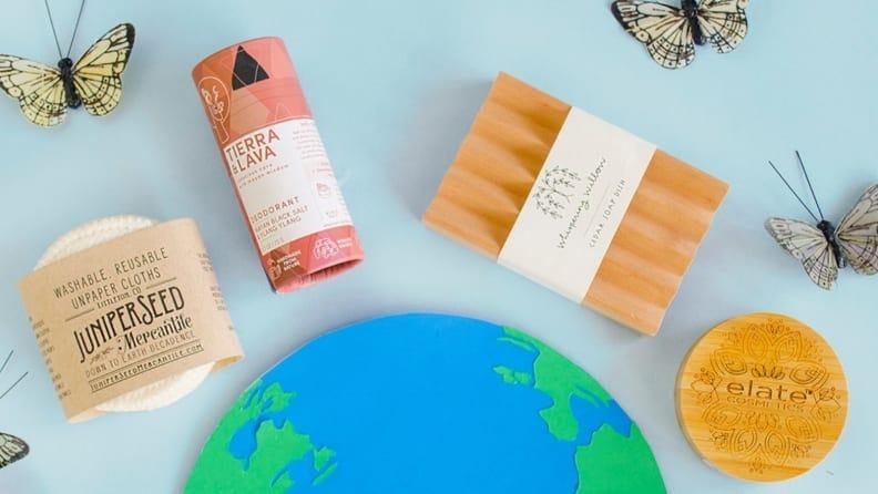 Buy everything from beauty products to onesies at Earth Hero.