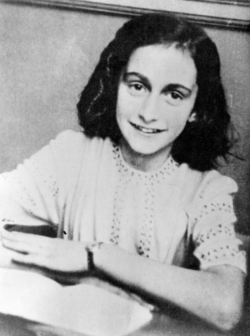 Anne Frank wrote about sexual education, prostitutes and 'dirty' jokesin her diary, something that researchers sayshe had written about before. (ullstein bild Dtl. via Getty Images)