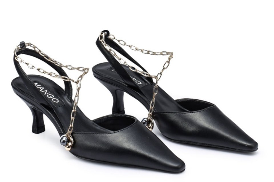 Mango Chain Heels. (PHOTO: Zalora)