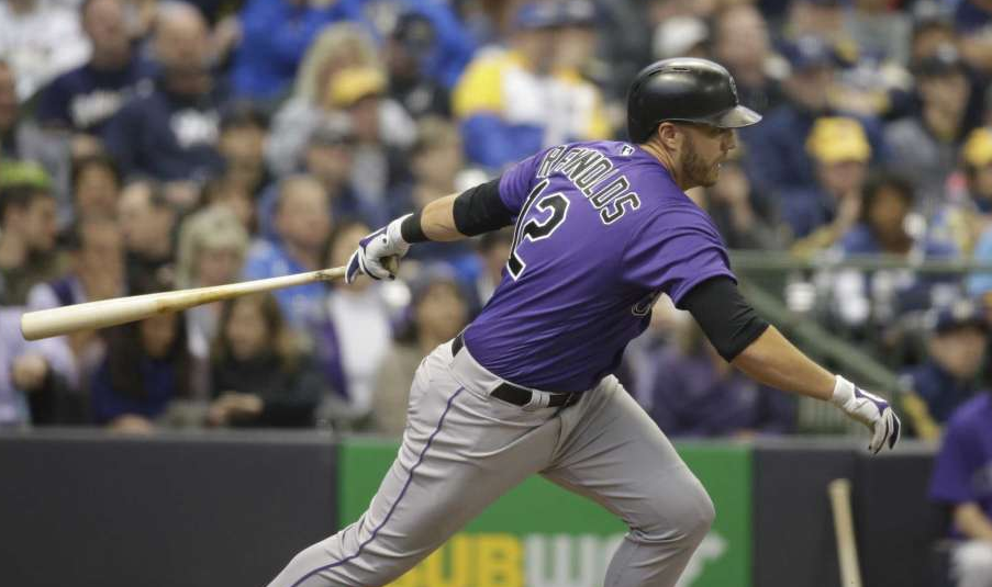 Mark Reynolds is beating the rap