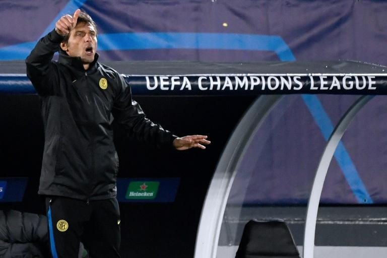 Inter Milan coach Antonio Conte is looking to avoid a fourth Champions League group stage exit.