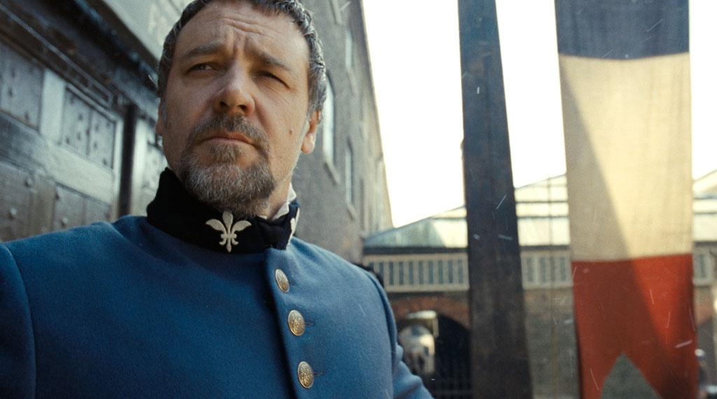 "Russell Crowe in Universal Pictures' ""Les Miserables"" - 2012"