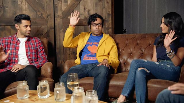 Kondaboluinterviewedother South Asian celebrities for his documentary. (The Problem With Apu truTV)