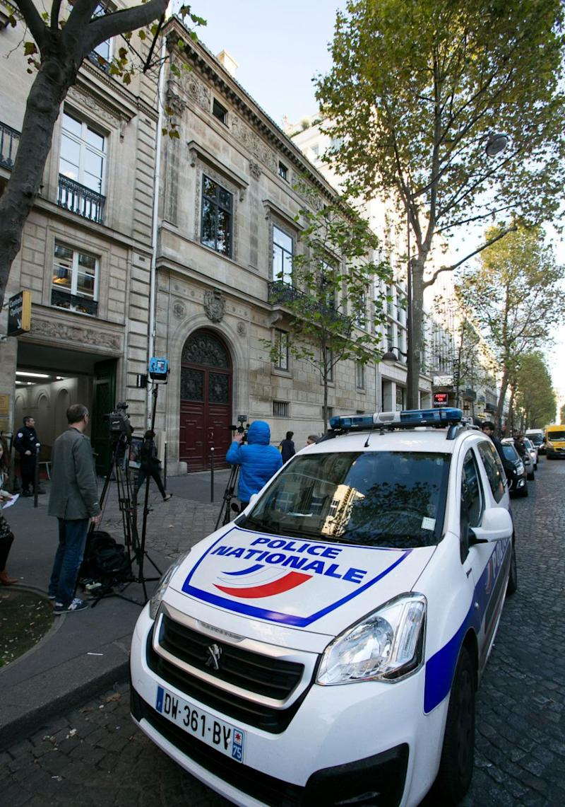 The No Address Hotel in Paris, where the robbery took place. Source: Getty