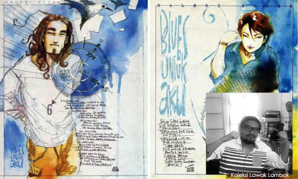 There wasn't a dorm room that didn't have 'Blues Untuk Aku' poster on its walls in the '90s