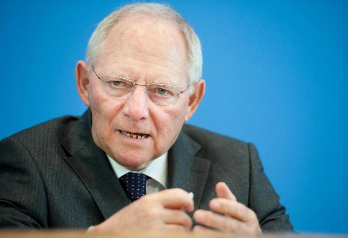 German Finance Minister Wolfgang Schaeuble doesn't expect Greece to leave the eurozone (AFP Photo/Steffi Loos)