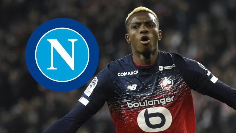 Napoli confirm €50m Osimhen signing from Lille