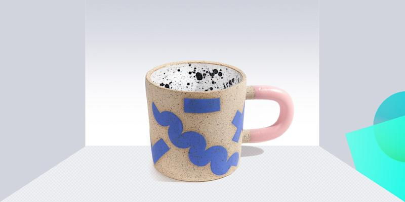 Caffeine makes people happy. Shapes and colors make people happy. So this mug plus caffeine will make anyone deliriously happy. Not a bad way to start to the morning. SHOP NOW: Doodle mug by Recreation Center, $46, mociun.com