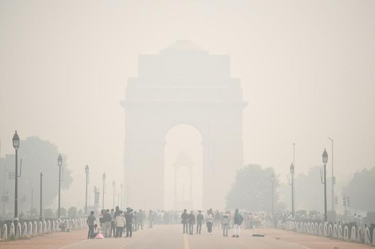 India is struggling with hazardously poor air quality as well as a coronavirus surge