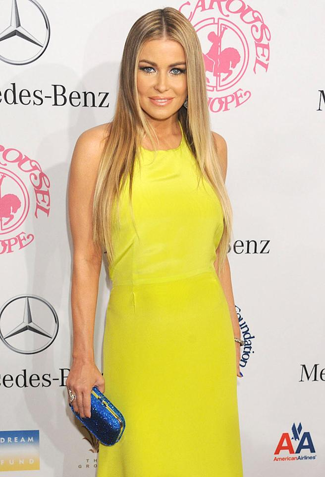 BEVERLY HILLS, CA - OCTOBER 20:  Actress Carmen Electra arrives at the 26th Anniversary Carousel Of Hope Ball presented by Mercedes-Benz at The Beverly Hilton Hotel on October 20, 2012 in Beverly Hills, California.  (Photo by Gregg DeGuire/WireImage)