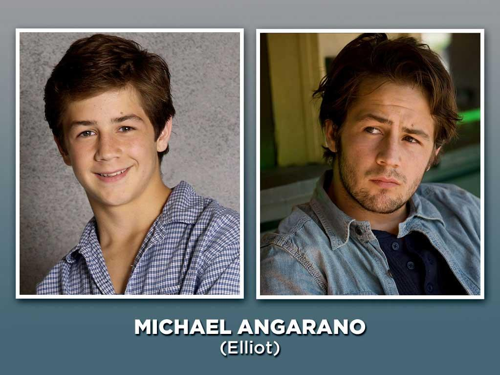 "Angarano (then 14 years old) joined the cast in 2001 as Jack's sperm-donor son, Elliot, who forced Jack into the uncomfortable role of dad. Since then, the young actor has built an impressive résumé in indie films, including ""Gentleman Broncos,"" ""The Art of Getting By,"" and Kevin Smith's ""Red State."" Unfortunately, though, he may be best known for being the guy Kristen Stewart reportedly dumped to be with her ""Twilight"" co-star Robert Pattinson. Tabloids can be so cruel."