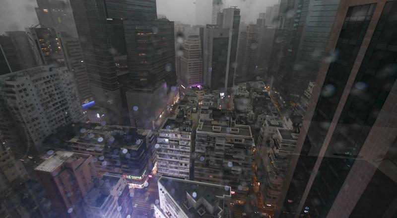 Intense rainstorm wreaks havoc in Hong Kong, killing one at sea and another in a lightning strike
