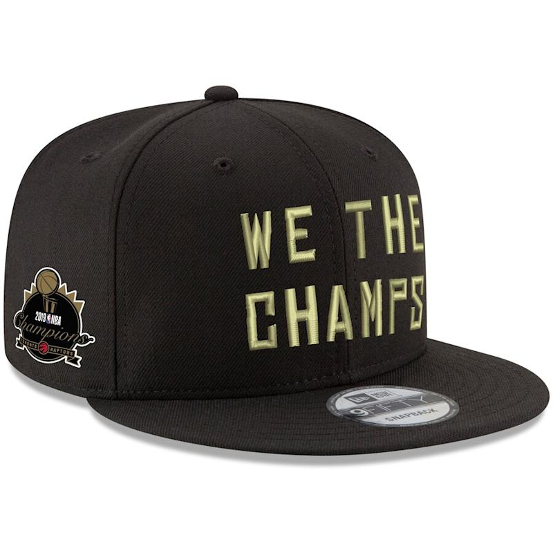 Raptors 2019 NBA Finals Champions Adjustable Hat