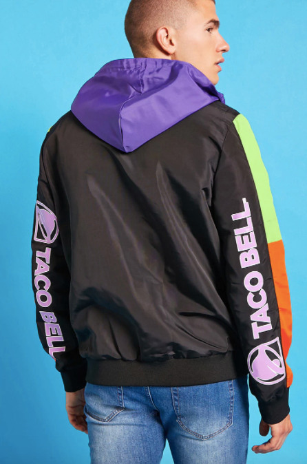 Taco Bell anorak jacket, <span>$29.90 at Forever 21</span>