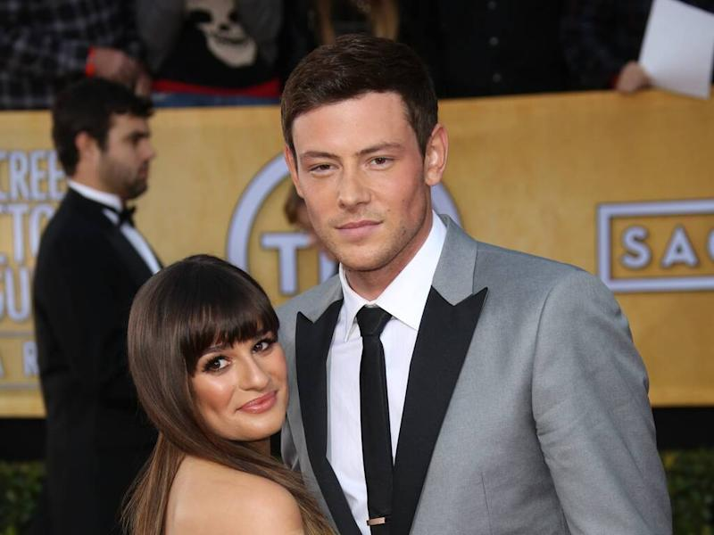 Lea Michele still gets emotional over Glee scenes with ex Cory Monteith