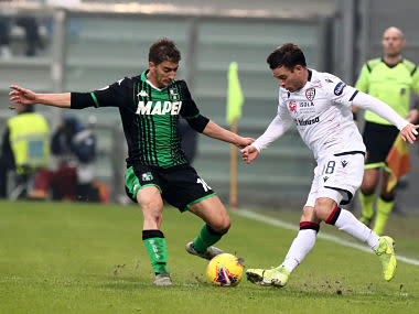 Serie A: Cagliari fight back from two goals down to draw against Sassuolo, extend unbeaten run to 13 games