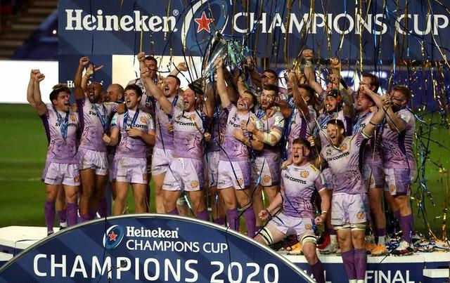 Exeter are the European champions