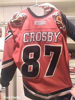 separation shoes 3c3b3 6a667 Pass or Fail: The No. 87 Calgary Flames Crosby jersey