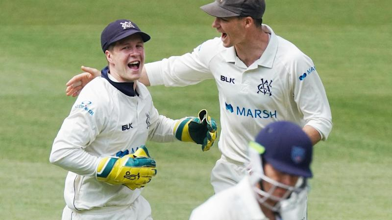 Victoria have the edge over NSW during the first day of their Sheffield Shield clash at the MCG