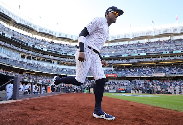Cameron Maybin was outstanding for the New York Yankees in 2019. (Elsa/Getty Images)