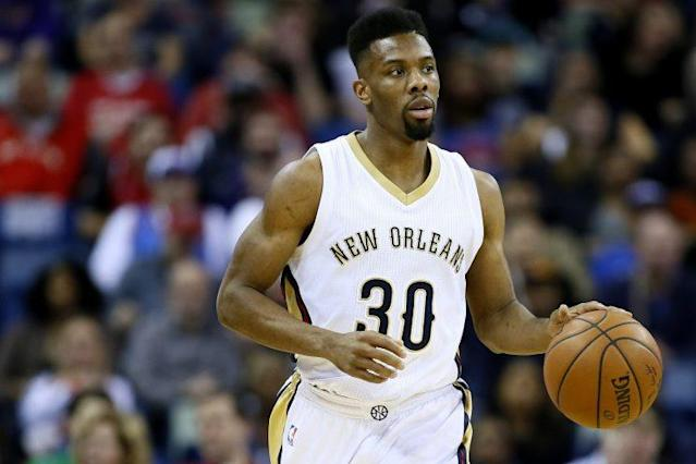 Norris Cole played 45 games with the Pelicans last year. (AP)