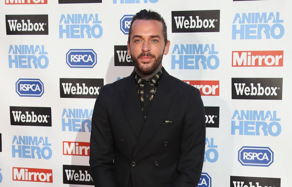 attends the Daily Mirror & RSPCA Animal Hero awards at Grosvenor House on September 6, 2018 in London, England.