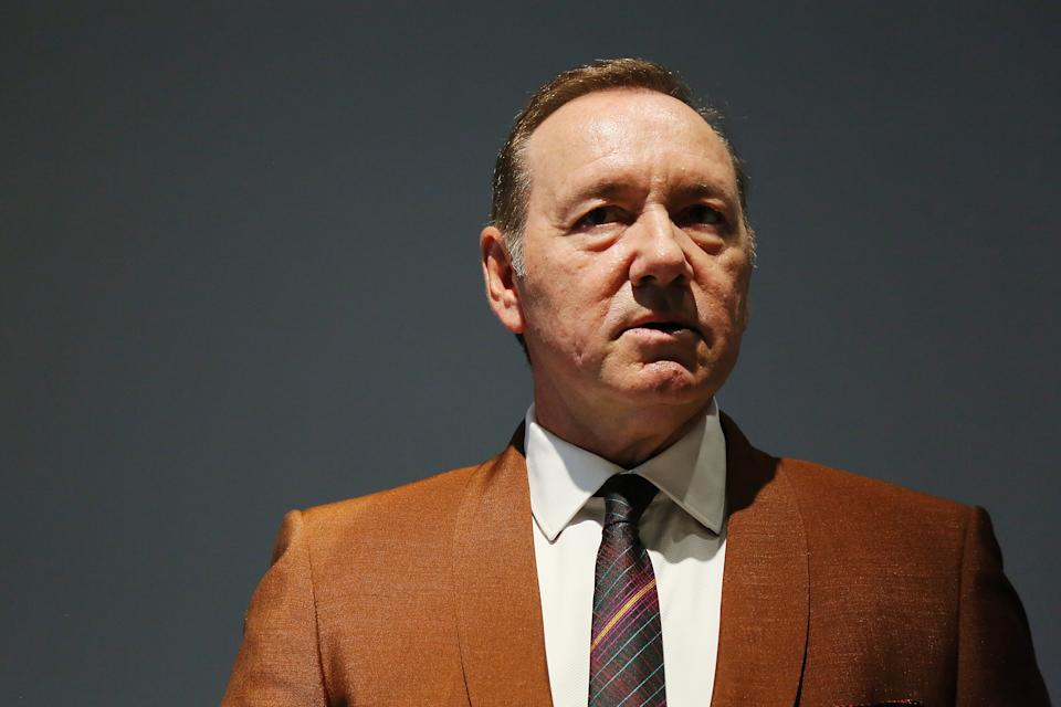 ROME, ITALY - AUGUST 02: Actor Kevin Spacey attends the reading of the event
