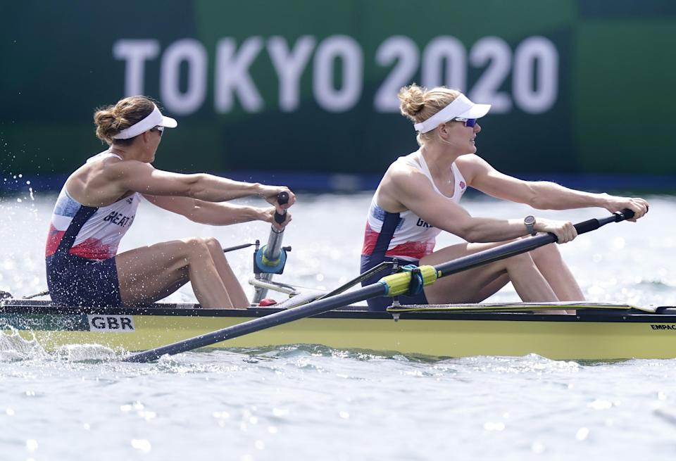Glover and Swann dropped out of the top three with 700m to go. (Danny Lawson/PA) (PA Wire)