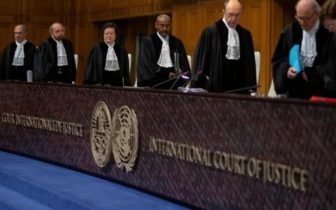 The ICJ may take years to reach a final ruling on a genocide case launched by Gambia - Credit: Peter Dejong/AP