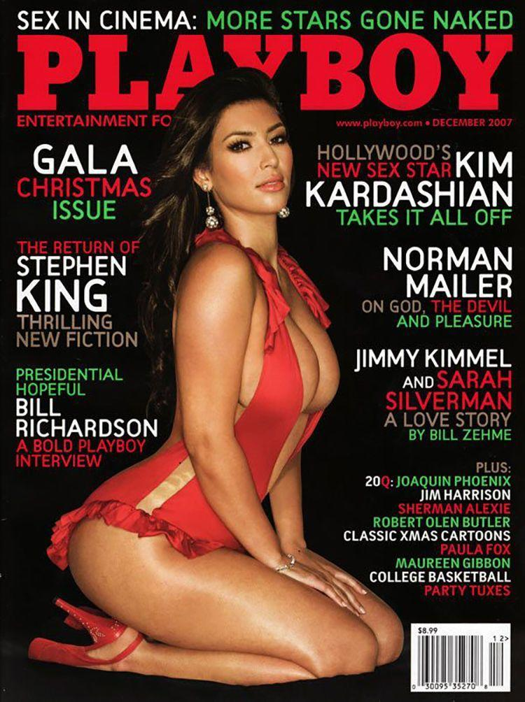 <p><strong>Issue: </strong>December 2007</p><p>Kim Kardashian took the world—and the cover of <em>Playboy</em>—by storm in 2007. </p>