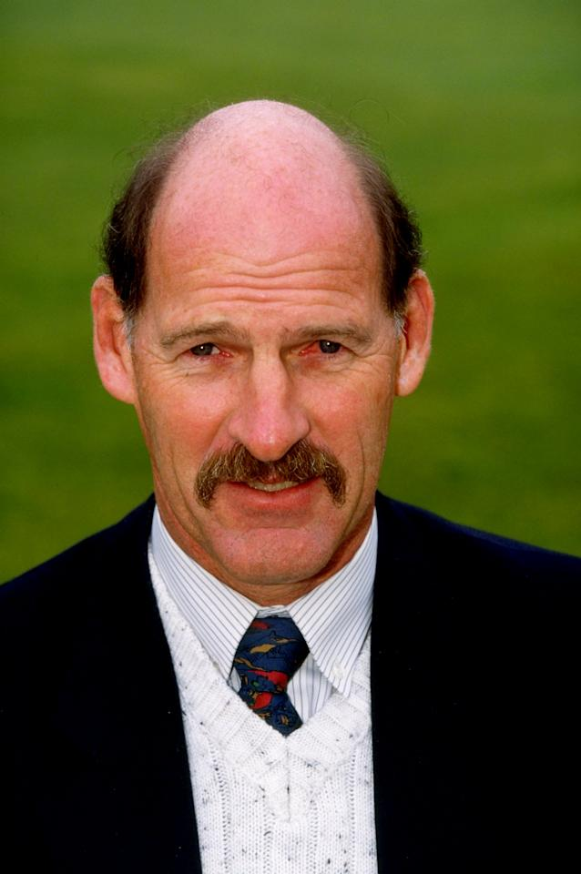 7 Apr 1999:  Portrait of Nottinghamshire manager Clive Rice. \ Mandatory Credit: Andrew Redington /Allsport