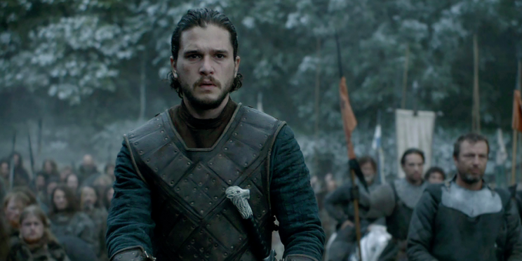 Jon Snow in 'Game of Thrones' season 6, episode 9 'Battle of the Bastards' (CREDIT: HBO)