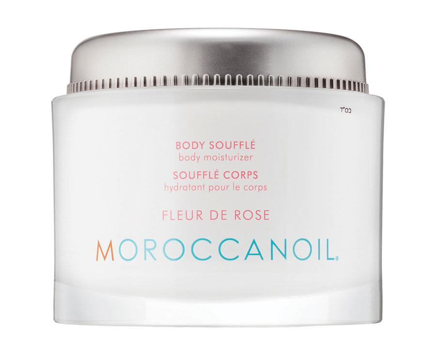 "<p>Any other rose-scented body moisturizer other than MoroccanOil's wouldn't smell as sweet. The whipped cream is infused with the brand's signature argan oil and creamy shea butter. </p><p>Buy it <a rel=""nofollow"" href=""https://www.sephora.com/product/body-souffle-P412104"">here</a> for $56.</p>"