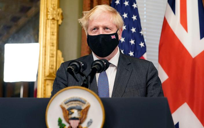 The Prime Minister will complete his four-day trip to the US with a call for world leaders to go further on fighting global warming - AP Photo/Jacquelyn Martin