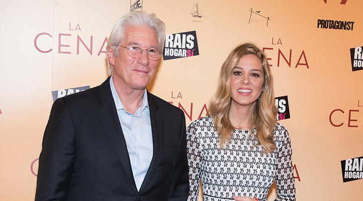 Richard Gere welcomes son with wife Alejandra Silva