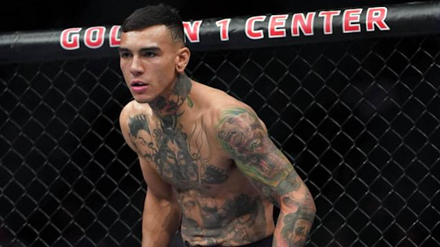 Sacramento native Andre Fili put on a show at Golden 1 Center in the first round.
