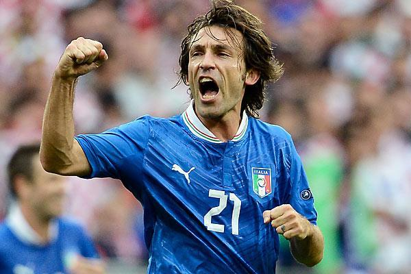Andrea Pirlo. Getty Images