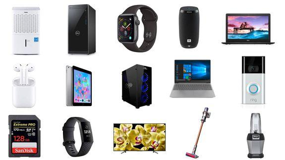 Dell laptops, Dyson vacuums, Fitbit Charge 3, and more deals