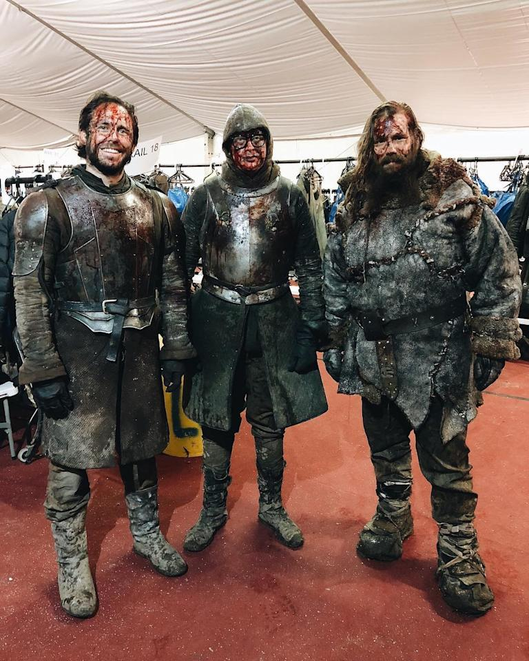 "The country star made a cameo as a Wildling-turned-White Walker during that epic battle for Winterfell. Stapleton's scene also featured Kit Harington's Jon Snow who tried to charge the Night King. Pregnant wife Morgane Stapleton proudly raved about his cameo on <a rel=""nofollow"" href=""https://www.instagram.com/p/Bw0tw5XlQVX/"">Instagram</a>, writing, ""Episode 3....My wildling is a white walker,"" along with a video in which she says, ""There you are!"""