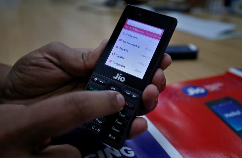India to roll out COVID-19 app for Reliance's JioPhone in bid to widen use