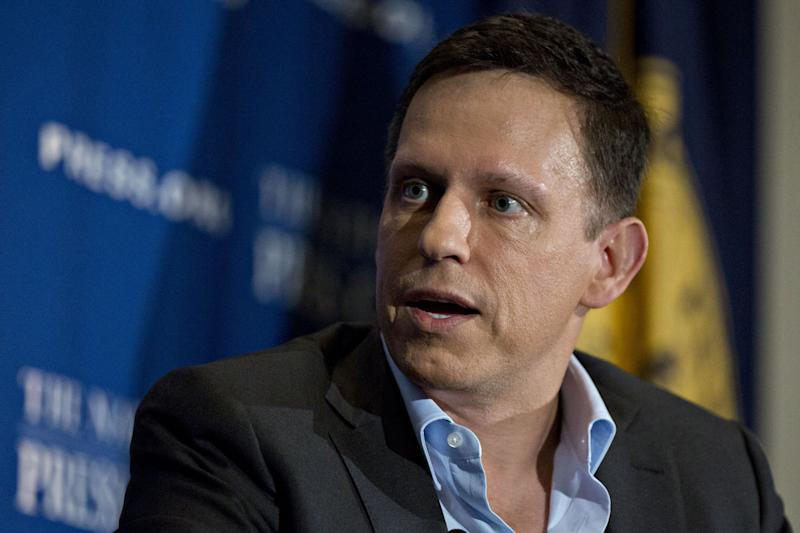 Peter Thiel Missed Out on China  Now He's Betting on Patriotism